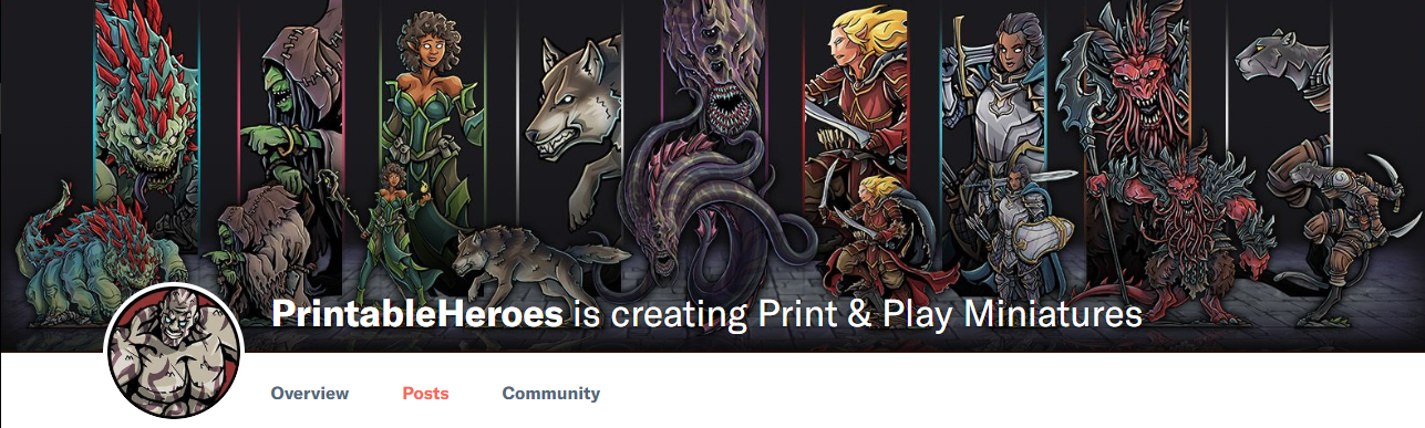 photograph relating to Printable Heroes Patreon identify Get hold of Outstanding, Endless DD Maps and Miniatures for as Small